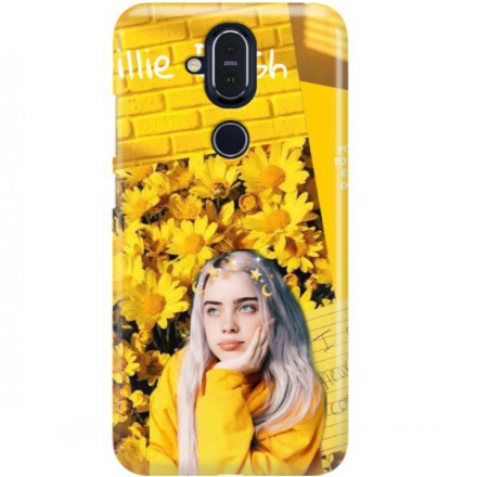ETUI CLEAR NA TELEFON NOKIA 8.1 / X7 BILLIE EILISH 1