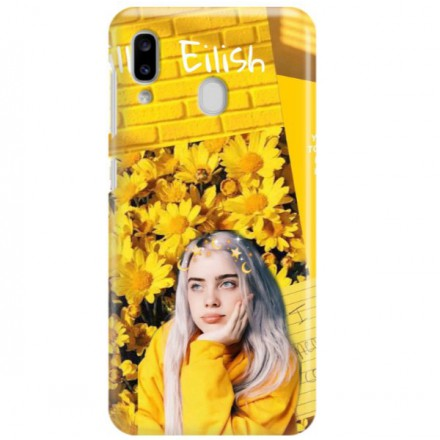ETUI CLEAR NA TELEFON SAMSUNG GALAXY A20 BILLIE EILISH 1