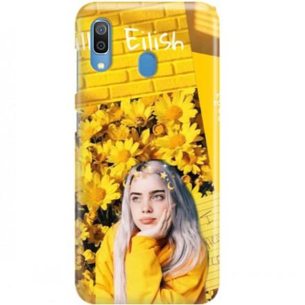 ETUI CLEAR NA TELEFON SAMSUNG GALAXY A30 BILLIE EILISH 1