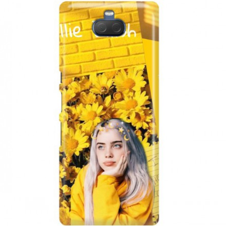 ETUI CLEAR NA TELEFON SONY XPERIA 10 PLUS BILLIE EILISH 1