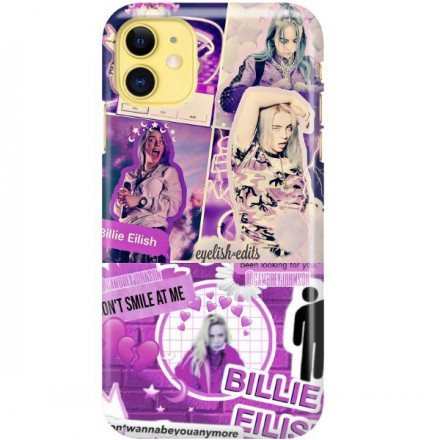 ETUI CLEAR NA TELEFON APPLE IPHONE 11 BILLIE EILISH 2