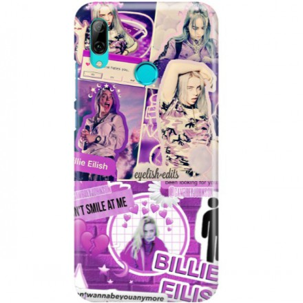 ETUI CLEAR NA TELEFON HUAWEI Y7 2019 BILLIE EILISH 2