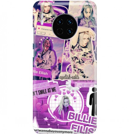 ETUI CLEAR NA TELEFON HUAWEI MATE 30 BILLIE EILISH 2