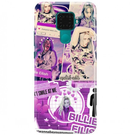 ETUI CLEAR NA TELEFON HUAWEI MATE 30 LITE BILLIE EILISH 2