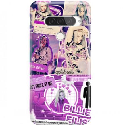 ETUI CLEAR NA TELEFON LG G8S / G8S THINQ BILLIE EILISH 2