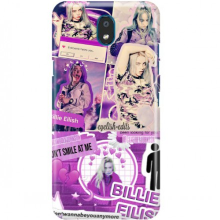 ETUI CLEAR NA TELEFON LG K30 2019 BILLIE EILISH 2