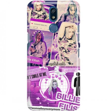 ETUI CLEAR NA TELEFON LG K40 BILLIE EILISH 2