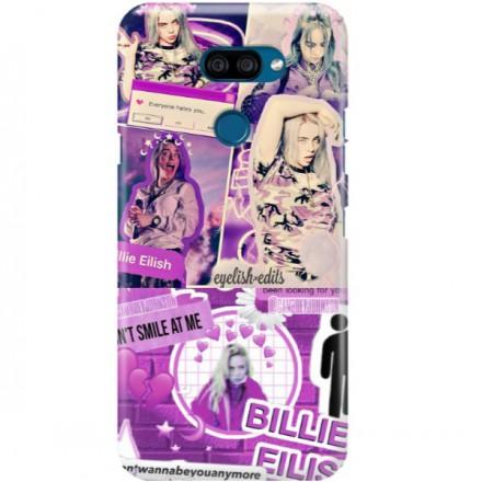 ETUI CLEAR NA TELEFON LG K40S BILLIE EILISH 2