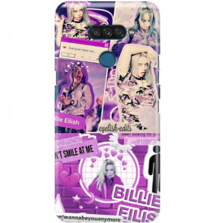 ETUI CLEAR NA TELEFON LG K50S BILLIE EILISH 2