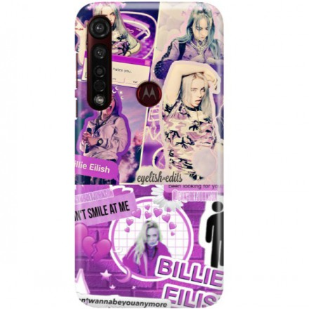ETUI CLEAR NA TELEFON MOTOROLA MOTO G8 PLUS BILLIE EILISH 2
