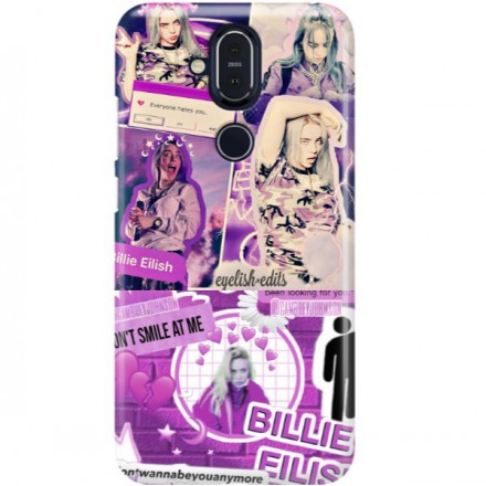 ETUI CLEAR NA TELEFON NOKIA 8.1 / X7 BILLIE EILISH 2