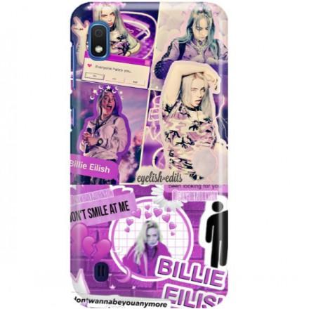 ETUI CLEAR NA TELEFON SAMSUNG GALAXY A10E BILLIE EILISH 2