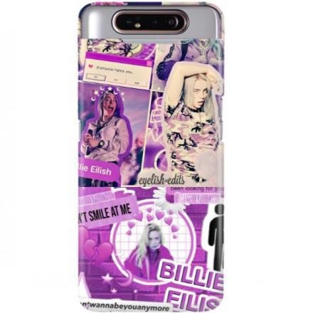 ETUI CLEAR NA TELEFON SAMSUNG GALAXY A90 BILLIE EILISH 2