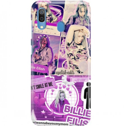 ETUI CLEAR NA TELEFON SAMSUNG GALAXY A30 BILLIE EILISH 2