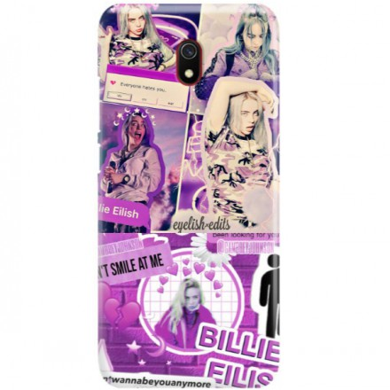 ETUI CLEAR NA TELEFON XIAOMI REDMI 8A BILLIE EILISH 2