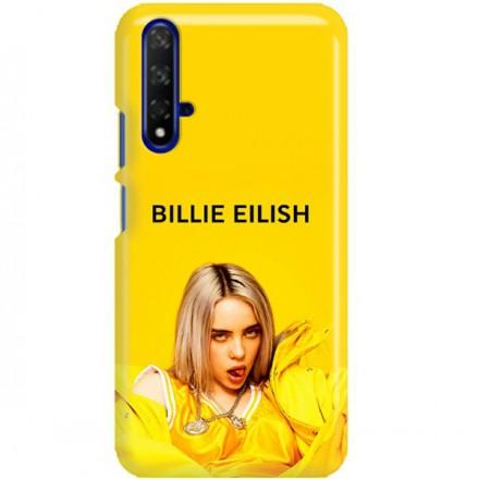 ETUI CLEAR NA TELEFON HUAWEI HONOR 20 BILLIE EILISH 3