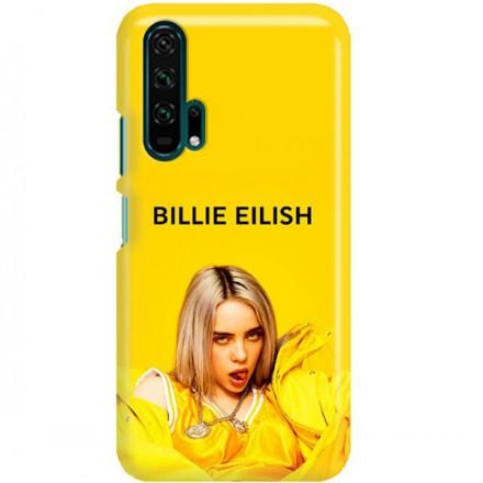 ETUI CLEAR NA TELEFON HUAWEI HONOR 20 PRO BILLIE EILISH 3