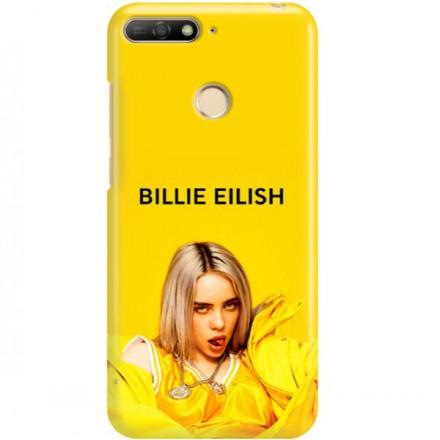 ETUI CLEAR NA TELEFON HUAWEI Y6 2018 PRIME BILLIE EILISH 3