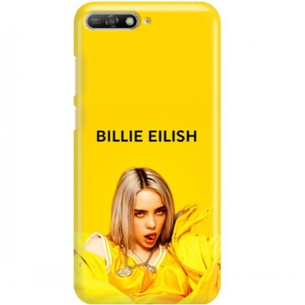 ETUI CLEAR NA TELEFON HUAWEI Y6 2019 BILLIE EILISH 3