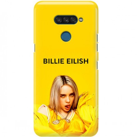 ETUI CLEAR NA TELEFON LG K50S BILLIE EILISH 3