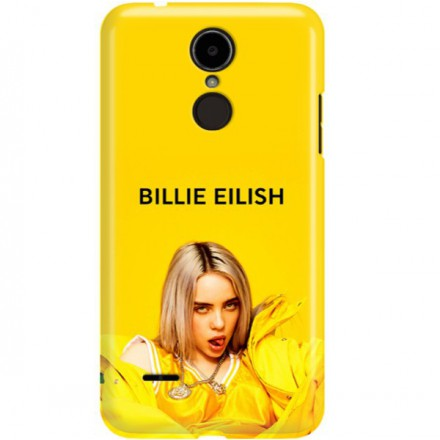 ETUI CLEAR NA TELEFON LG K8 2017 BILLIE EILISH 3