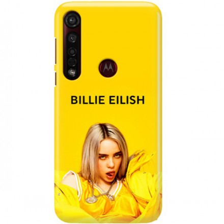 ETUI CLEAR NA TELEFON MOTOROLA MOTO G8 PLUS BILLIE EILISH 3