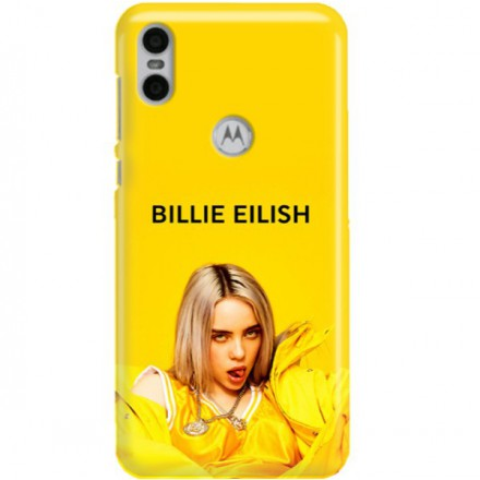 ETUI CLEAR NA TELEFON MOTOROLA MOTO ONE BILLIE EILISH 3