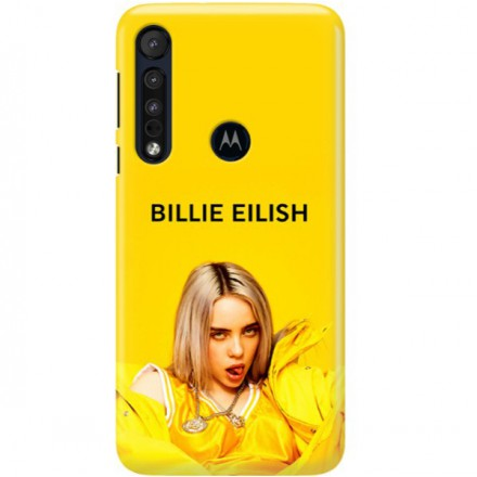 ETUI CLEAR NA TELEFON MOTOROLA MOTO ONE MACRO BILLIE EILISH 3