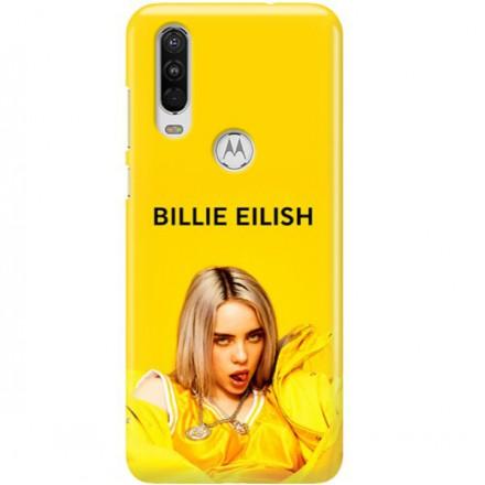 ETUI CLEAR NA TELEFON MOTOROLA MOTO ONE ACTION BILLIE EILISH 3