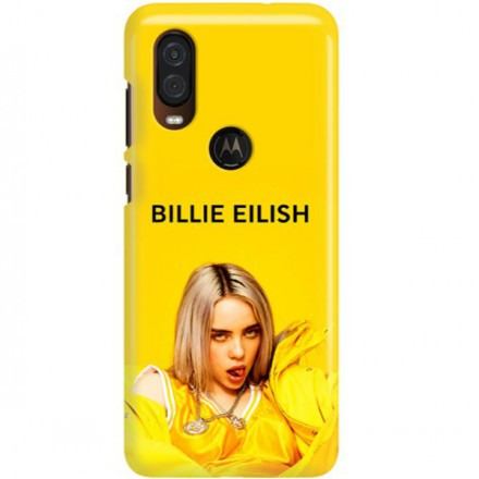 ETUI CLEAR NA TELEFON MOTOROLA MOTO ONE VISION BILLIE EILISH 3