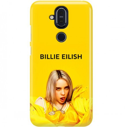 ETUI CLEAR NA TELEFON NOKIA 8.1 / X7 BILLIE EILISH 3