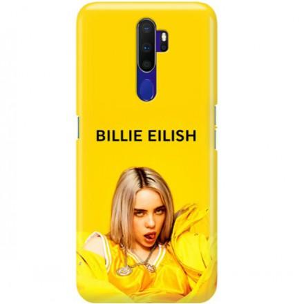 ETUI CLEAR NA TELEFON OPPO A9 2020 BILLIE EILISH 3