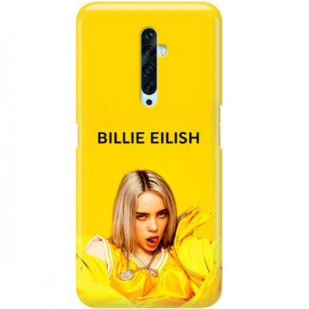 ETUI CLEAR NA TELEFON OPPO RENO 2 BILLIE EILISH 3