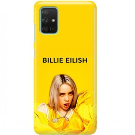 ETUI CLEAR NA TELEFON SAMSUNG GALAXY A71 BILLIE EILISH 3