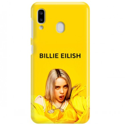 ETUI CLEAR NA TELEFON SAMSUNG GALAXY A20 BILLIE EILISH 3