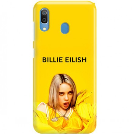ETUI CLEAR NA TELEFON SAMSUNG GALAXY A30 BILLIE EILISH 3