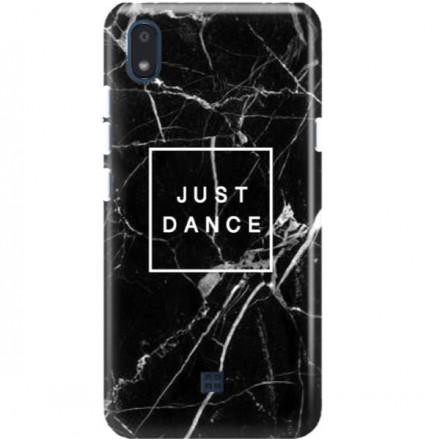 ETUI CLEAR NA TELEFON LG K20 BLACK MARBLE