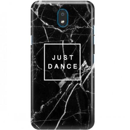 ETUI CLEAR NA TELEFON LG K30 2019 BLACK MARBLE