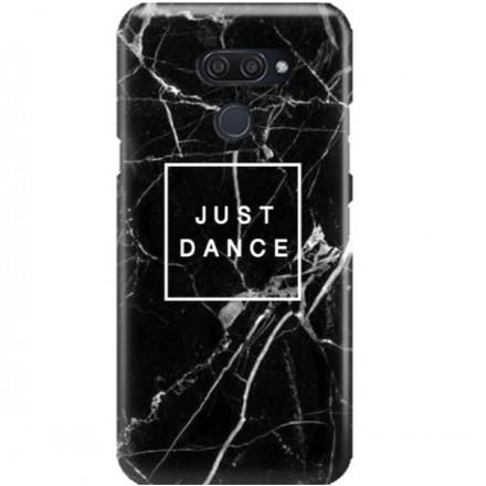 ETUI CLEAR NA TELEFON LG K50 / Q60 BLACK MARBLE