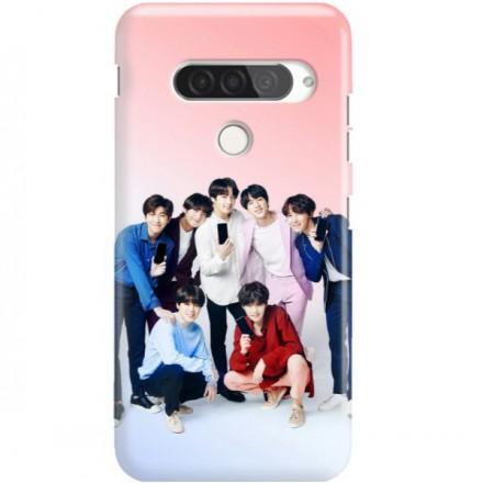 ETUI CLEAR NA TELEFON LG G8S / G8S THINQ BTS FAN 1