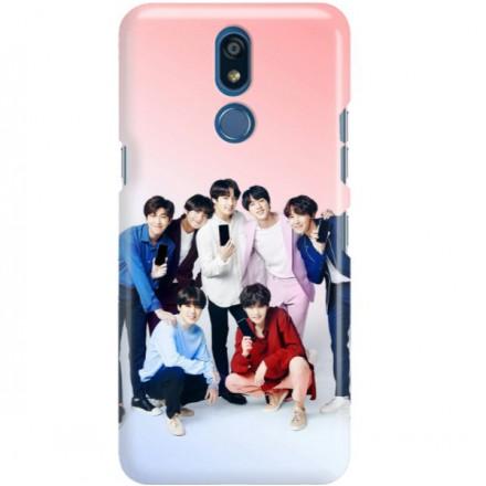 ETUI CLEAR NA TELEFON LG K40 BTS FAN 1
