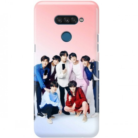 ETUI CLEAR NA TELEFON LG K50S BTS FAN 1