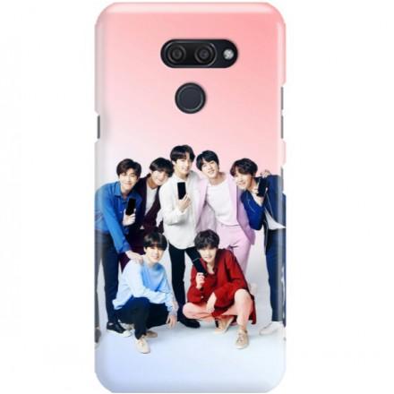 ETUI CLEAR NA TELEFON LG K50 / Q60 BTS FAN 1