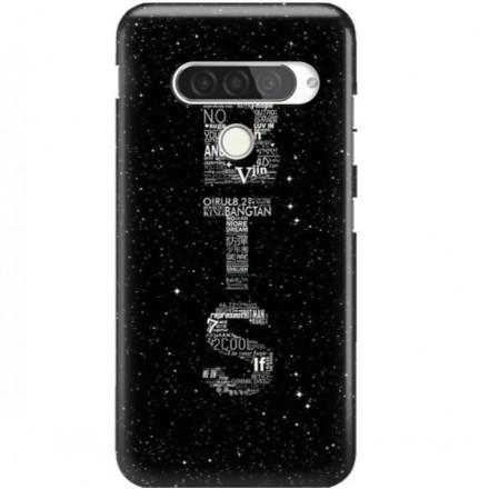 ETUI CLEAR NA TELEFON LG G8S / G8S THINQ BTS FAN 3