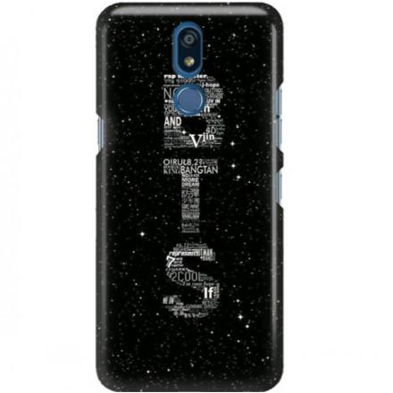 ETUI CLEAR NA TELEFON LG K40 BTS FAN 3