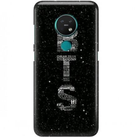 ETUI CLEAR NA TELEFON NOKIA 6.2 / 7.2 BTS FAN 3