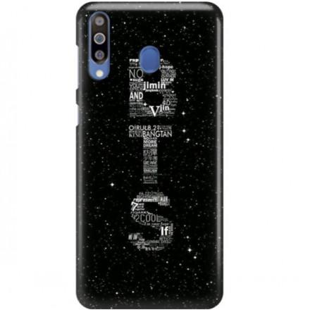 ETUI CLEAR NA TELEFON SAMSUNG GALAXY M30 BTS FAN 3
