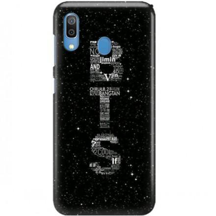 ETUI CLEAR NA TELEFON SAMSUNG GALAXY A30 BTS FAN 3