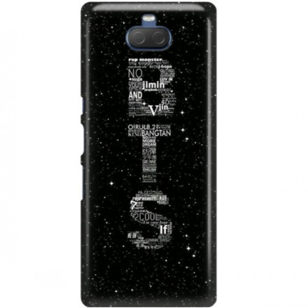 ETUI CLEAR NA TELEFON SONY XPERIA 10 PLUS BTS FAN 3