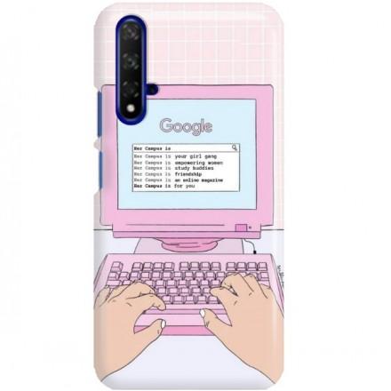 ETUI CLEAR NA TELEFON HUAWEI HONOR 20 COMPUTER